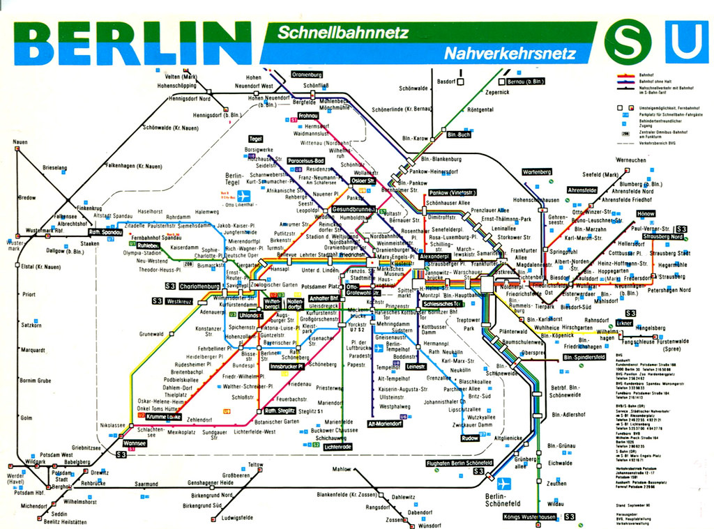 The Worlds Most Recently Posted Photos Of Map And Sbahn Flickr - Berlin us bahn map