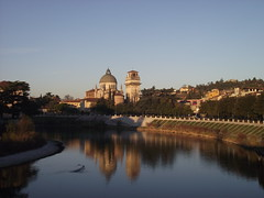 San giorgio Church_Sunrise (Elisa Giovinazzo) Tags: italy church river san italia chiesa verona giorgio adige veneto