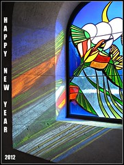 To all my flickr friends... (deanspic) Tags: light france colour reflection church window corner rainbow pattern masonry stainedglass newyear card wish greetingcard avignon stainglass happynewyear 2012 newyearscard seasonsgreetings g12 panoramafotográfico panoramafotogrfico panaromafotografico seasonsgreetingcard newyear2012