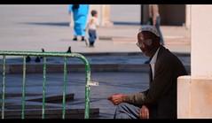 The Man In Casablanca (Rich Byham) Tags: street man nikon candid morocco casablanca d7000