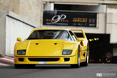 A Colorful Year (Raphaël Belly Photography) Tags: paris cars car yellow jaune de french photography eos hotel riviera photographie ferrari casino montecarlo monaco mc belly amarillo exotic giallo f 7d 40 modena hermitage raphael luxury rb rocher fairmont spotting forty supercars f40 v12 telethon raphaël principality 2011 téléthon principauté quarante worldcars egarage