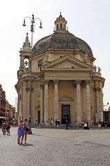 Santa Maria dei Miracoli (ejhrap) Tags: santa rome roma tower church bell maria chiesa cupola dome dei miracoli