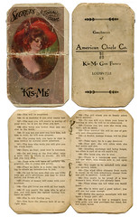 Secrets ~ A Social Game (deatonstreet) Tags: gum antique kentucky ephemera louisville kisme americanchicle