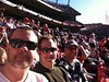 Me, Andrew, and Rob at the Broncos Patriots game