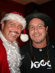 Santa (Terry) & Clay