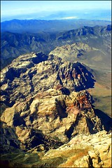 Wilson Cliffs from above (*Arianwen*) Tags: redrockcanyon usa mountain nature landscape rocks nevada basin calico rockymountain hdr arianwen wilsoncliffs lasvegasarea mygearandme