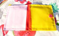 porta-pensos amarelo (Handmade by Cláudia) Tags: carteira porta tecido pensos higienicos