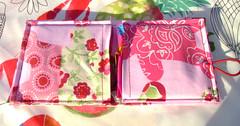 porta-pensos rosa (Handmade by Cláudia) Tags: carteira porta tecido pensos higienicos