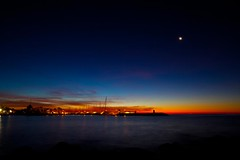 The first dawn (Steve-h) Tags: longexposure blue red orange s