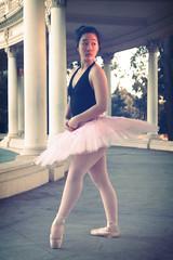 (somewhereovertherainbowww) Tags: sunset ballet art photoshop photography photo dance ballerina dancer photograph pointe amphitheater tutu goldenhour balboapark dancephotography studioart