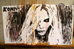 Konny (dprezat) Tags: street urban paris art painting stencil tag graf peinture aerosol bombe pochoir konny steding sonyalpha700