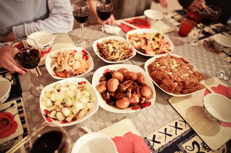 Chen Jie home dinner 021