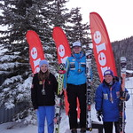 Nakiska Miele Cup Jan 15th, 2012 - Top 3 J2 women