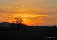 Sunrise (Barry Potter (EdenMedia)) Tags: morning nature sunrise landscape nikon yorkshire earlymorning redsky pocklington eastyorkshire barrypotter valeofyork yorkshirewolds nikond40 barrypotternet afsnikkor18105mm1556ged edenmedia barrypotteredenmedia