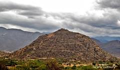 View of Cerro Da'Nush from Dainzu (yaxchibonam) Tags: mexico oaxaca inah zonas zapotec dainzu danush lateclassicperiod cerrodanush faulseit archeologicas