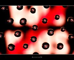 Sopa Pipa   [explored] (Borretje76) Tags: light abstract black macro reflection water netherlands glass dutch reflections iso100 droplets drops neon sony sigma plate led explore stop software nik f22 sopa enschede pse pipa bold druppel weerspiegeling druppels 180mm verlichting reflecties refletie spatten explored glasplaat vertekening spatjes ledverlichting a580 plantenspuit gupr borretje76 dslra580