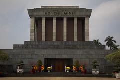 Ho Chi Minh Mausoleum (Pexi from Helsinki Rock City) Tags: travel asia south country east vietnam communist journey traveling aasia maa matkailu kaakkoisaasia kommunistinen