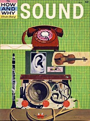 Wonder Book Of Sound (Wires In The Walls) Tags: wonder book cover sound scanned 1960s 1962 howandwhy martinkeen