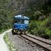 Ogni tanto passa il treno dalla centrale idroelettrica a Aguas Calientes