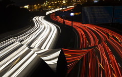 The road (EXPLORED) (Lluis i Vinyet) Tags: road light luz nikon carretera artistic autopista artistica llum d7000