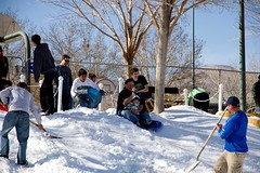 Snow Day 2012_ok gooo (Swallia23) Tags: snow lasvegas sledding childsplay summerlin reddyice readyice snowday2012 thearborstennisandplaypark