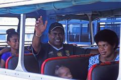 Lautoka Bus Station | Fiji | 2010 (PaulFitzPhotographs) Tags: film analog 35mm nikon f100 fujichrome paulfitzgeraldphotographs camnikonf100