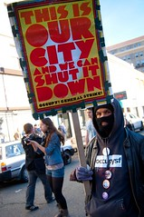 Occupy Oakland Move In Day (19 of 31) (glennshootspeople) Tags: california street corporate rebel oakland 1 movement political rally protest streetphotography social solidarity 99 revolution marching rebellion change anarchy anarchism activism economic financial revolt protesters activist socialism greed downtownoakland rebels classwar inequality oaklandpolice moveinday frankogawaplaza d90 ows occupy corporategreed streetmarch socialinequality nikon2485mm oaklandpolicedepartment economicinequality glennhalog occupywallstreet wearethe99 occupytogether occupyeverywhere occupyoakland downtownoak glennshootspeople occupyoaklandmoveinday