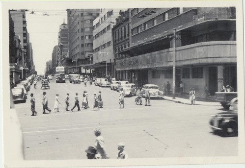Johannesburg January 1954