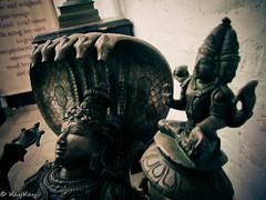 Statue of Lord Vishnu - Satellite (karthipec) Tags: dakshinchitra