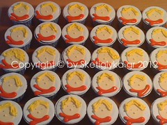 Petit Prince cupcake (Niki SG) Tags: art cookies cupcakes little prince sugar petit sugarpaste xake glyka    sketi