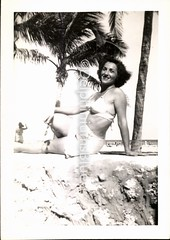 Bathing Beauty (mizaliza) Tags: beach photo mama etsy bathing piece photovintage photoantique etsydelphiniumsbluedelphiniumsbluefound palmtreesbikini2 suitswimsuithot