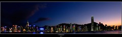 Hong Kong panorama (mraadsen) Tags: china christmas sunset panorama ice skyline canon landscape hongkong eos lights zonsondergang asia flickr cityscape stitch avond kowloon 550d 1585mm mraadsen