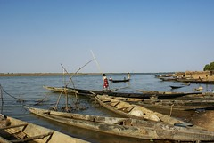 Segou Koro (Guillaume Colin & Pauline Penot) Tags: africa river banco adobe mali mudbrick koro fleuve afrique segou ségou