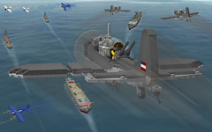 We found them...Repeat...We found them!!! (Florida Shoooter) Tags: lego zero hellcat ldd battleofmidway sbddauntless