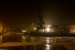 Lindener Hafen im Eis 2009 - The Harbour in Hannover Linden in ice 2009 (Frank_S1612) Tags: light ice night germany deutschland datum nacht harbour jahreszeit hannover eis ort niedersachsen monat lindenerhafen limmer 05winter tageszeit 02012009 01januar