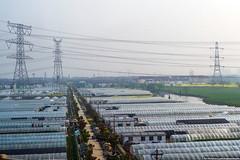 Greenhouses, China (varlamov) Tags: china greenhouse
