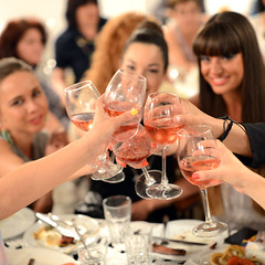blush wine (Zahariev Ivan) Tags: birthday holiday feast glasses wine playday