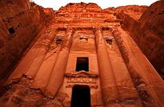 Royal Tombs 87 (David OMalley) Tags: world city heritage rose rock stone site desert petra siq royal carving unesco east jordan arab middle tombs carvings jordanian monumental jebel nabatean nabateans hewn ma'an almadhbah