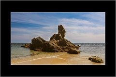 Cala de la Roca del Paller 02 (Stuart Kingston Photography) Tags: sky costa seascape beach water coast mar seaside spain flickr stones playa catalonia catalunya costabrava roca platja camideronda caladelarocadelpaller
