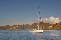 sailboat Virgin Gorda (Alida's Photos) Tags: sailing tropical caribbean bvi britishvirginislands