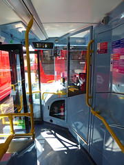 GAL MHV17 - BU16OZE - INTERIOR - BV BUS GARAGE - THUR 28TH APR 2016 O (Bexleybus) Tags: bus london ahead volvo interior garage go egyptian belvedere bv bodywork mcv goahead evoseti mhv17 bu16oze
