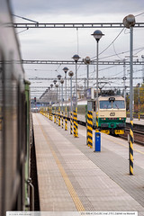 151.006-4 | Ex128 Hradany | tra 270 | Zbeh na Morav (jirka.zapalka) Tags: ex train czech cd stanice zabrehnamorave rada151 trat270