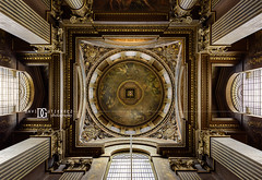 """Look Up"" Painted Hall, Old Royal Naval College, Greenwich, London, UK (davidgutierrez.co.uk) Tags: city uk greatbritain travel windows england urban color colour reflection building london art colors beautiful museum architecture buildings photography hall nikon europe cityscape colours photographer unitedkingdom britain vibrant interior painted details capital greenwich arts landmark structure historic lookup londres colourful londra attraction  londyn ultrawideangle  paintedhall  oldroyalnavalcollege  d810 nikond810 1424mm davidgutierrez londonphotographer afsnikkor1424mmf28ged davidgutierrezphotography"