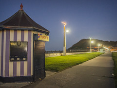 Teddy's (edwham) Tags: ireland dublin irish night evening amusement seaside hill greystones resort icecream esplanade boardwalk bray irishsea countywicklow brayhead darttrain