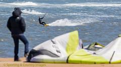 One last Go! (Toeknee66) Tags: ocean sea people water action surfing kitesurfing southgare