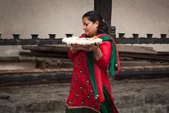 Offering (Mark S Weaver) Tags: kathmandu nepa