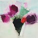 """arrangement in deep green and magenta   40x40 cm • <a style=""""font-size:0.8em;"""" href=""""http://www.flickr.com/photos/75593992@N05/27118288622/"""" target=""""_blank"""">View on Flickr</a>"""