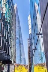 Urban Reflections - London (jjdupuy) Tags: uk london reflections londres gb angleterre 2016 royaumeuni theshard
