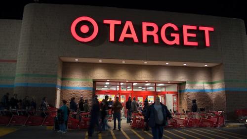 #BlackFriday at Target, 12:35am