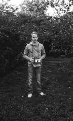 Holding my Polaroid Land (a.ellis) Tags: trip tree film vintage polaroid 150 pack instant apples rodinal 35 104 trip35 fomapan